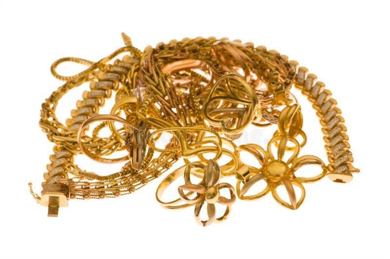 απομονωμένα κοσμήματα διά&ph στοκ εικόνες