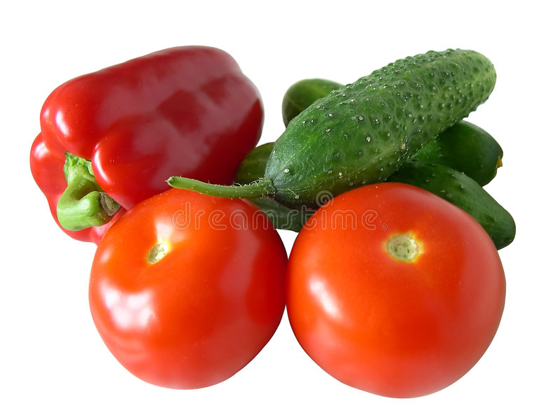 απομονωμένα λαχανικά στοκ εικόνα με δικαίωμα ελεύθερης χρήσης
