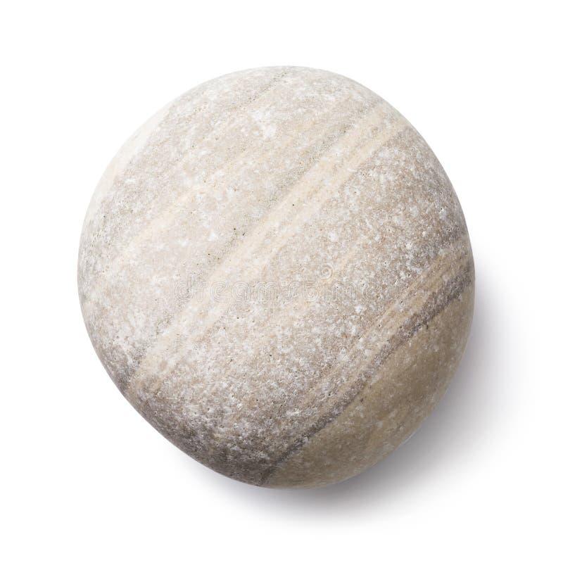 Απομονωμένα λεία θαλάσσια pebbles Επάνω όψη σε πέτρα χρώματος φωτός Φωτογραφία με μέθοδο τοποθέτησης σε στοίβα στοκ φωτογραφία με δικαίωμα ελεύθερης χρήσης