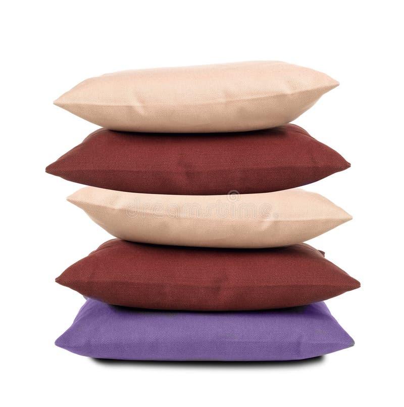 απομονωμένα μαξιλάρια στοκ εικόνες