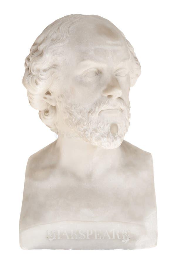 Απομονωμένη αποτυχία του William Shakespeare στο Achilleion στην Κέρκυρα στοκ εικόνες