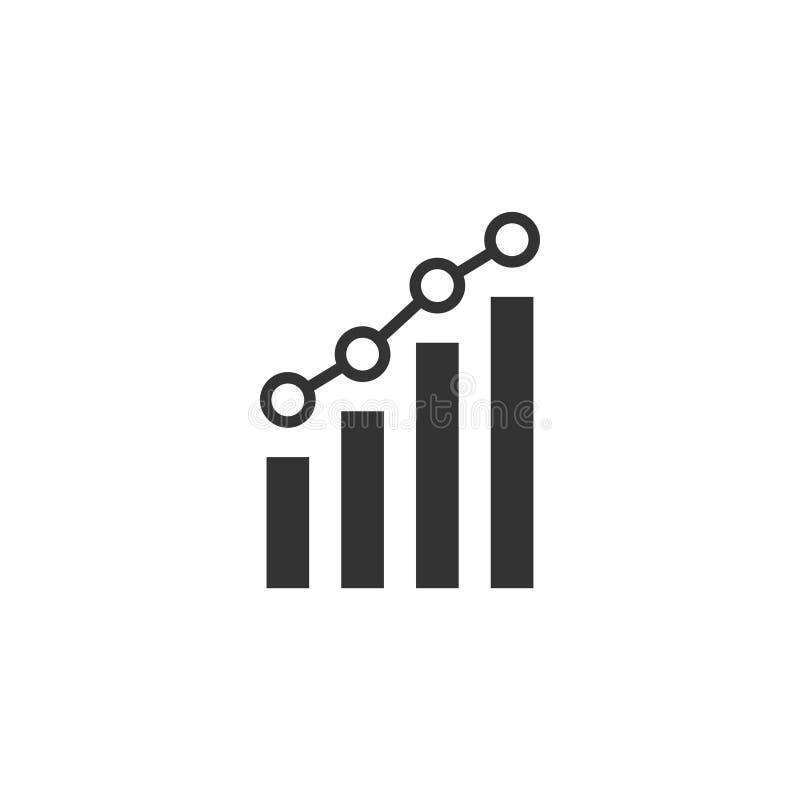 Απομονωμένη διάνυσμα απεικόνιση προτύπων σχεδίου εικονιδίων Analytics ελεύθερη απεικόνιση δικαιώματος