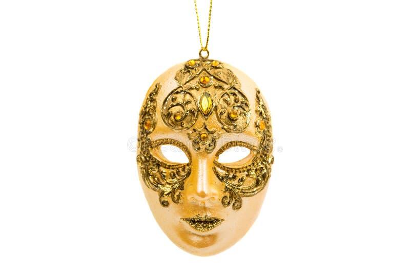 απομονωμένη καρναβάλι μάσκα στοκ φωτογραφία με δικαίωμα ελεύθερης χρήσης