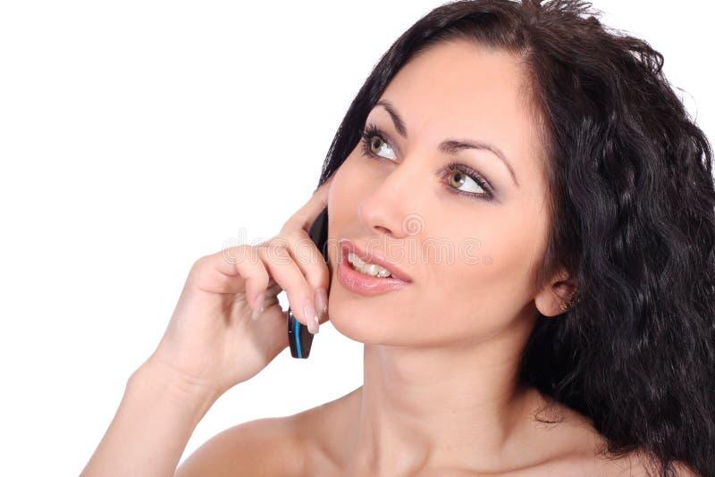 απομονωμένη τηλεφωνική γ&upsil στοκ εικόνες