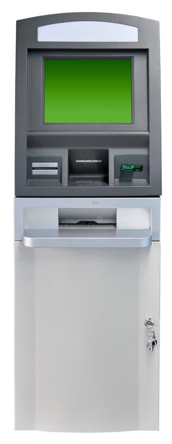 απομονωμένη το ATM μηχανή Στοκ Εικόνες