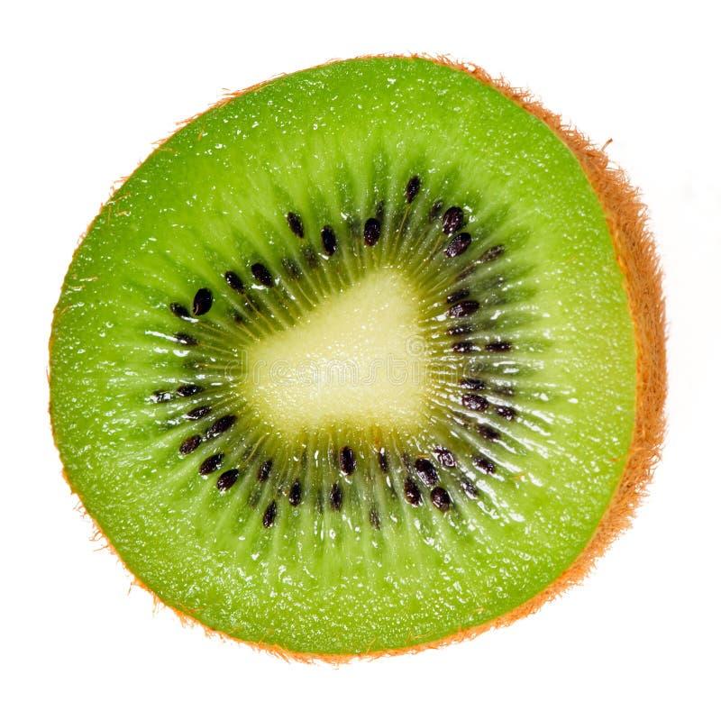 απομονωμένη φέτα ακτινίδιω&n στοκ εικόνα με δικαίωμα ελεύθερης χρήσης