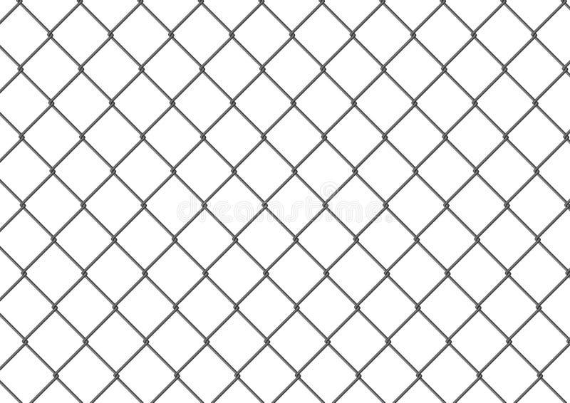 απομονωμένη φραγή σύνδεση αλυσίδων ελεύθερη απεικόνιση δικαιώματος