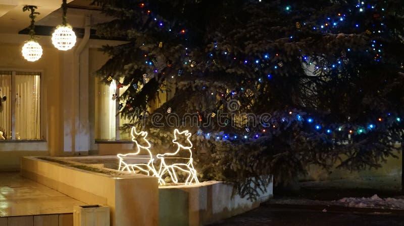 απομονωμένη Χριστούγεννα διάθεση τρία σφαιρών λευκό στοκ εικόνες με δικαίωμα ελεύθερης χρήσης