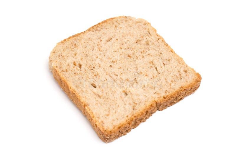 απομονωμένη ψωμί φέτα στοκ εικόνες με δικαίωμα ελεύθερης χρήσης