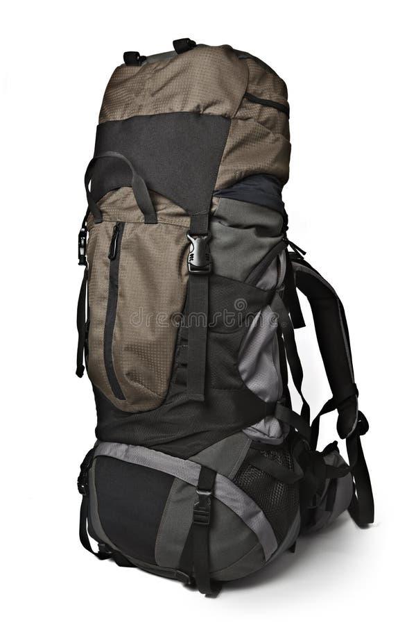 απομονωμένη backpack οδοιπορία στοκ φωτογραφία με δικαίωμα ελεύθερης χρήσης