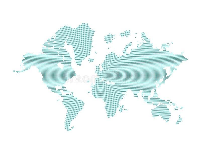 απομονωμένος κόσμος χαρτ ελεύθερη απεικόνιση δικαιώματος