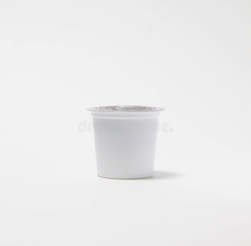 Απομονωμένος μεμονωμένος λοβός καφέ στοκ εικόνα με δικαίωμα ελεύθερης χρήσης
