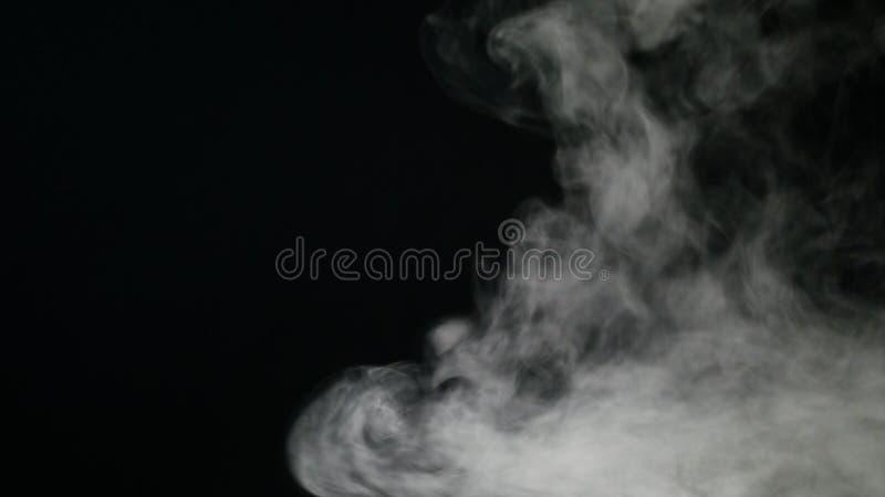 Απομονωμένος ομίχλη ή καπνός στοκ εικόνες