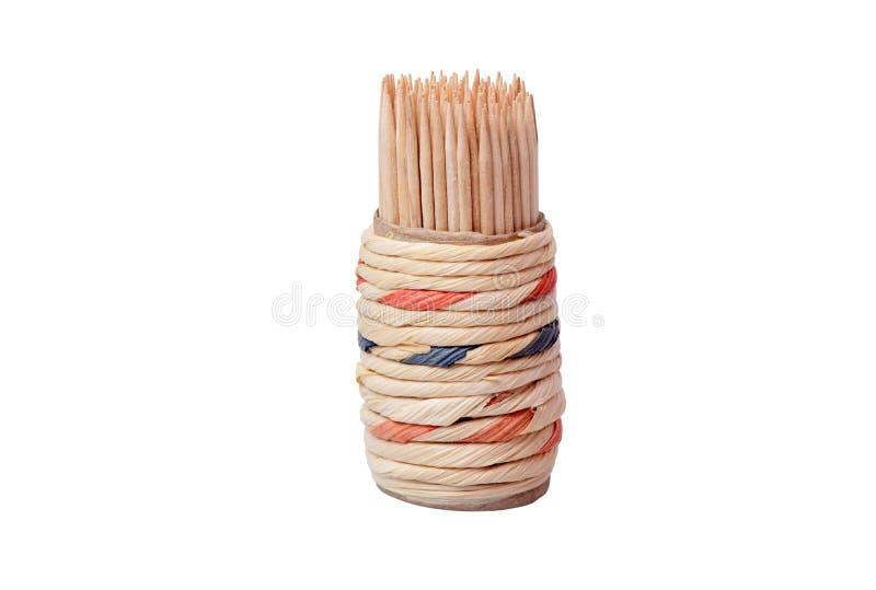 απομονωμένος toothpicks στοκ φωτογραφία με δικαίωμα ελεύθερης χρήσης