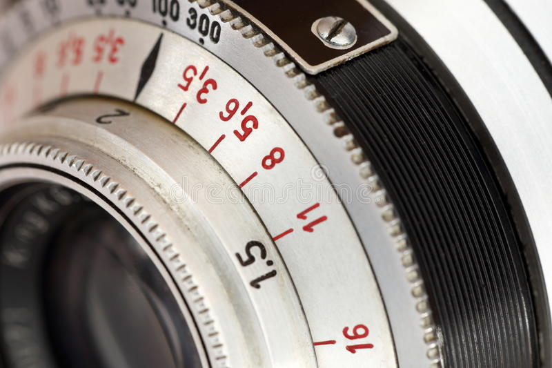απομονωμένο ανασκόπηση λευκό φωτογραφιών φακών στοκ εικόνα με δικαίωμα ελεύθερης χρήσης