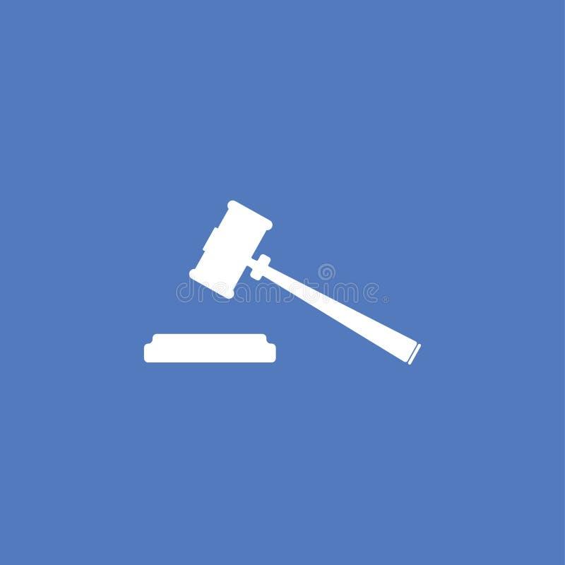 Απομονωμένο απεικόνιση διάνυσμα εικονιδίων νόμου διανυσματική απεικόνιση