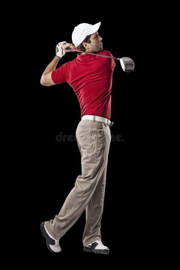 απομονωμένο γκολφ καλυμμένο φορέας στούντιο στοκ εικόνα με δικαίωμα ελεύθερης χρήσης