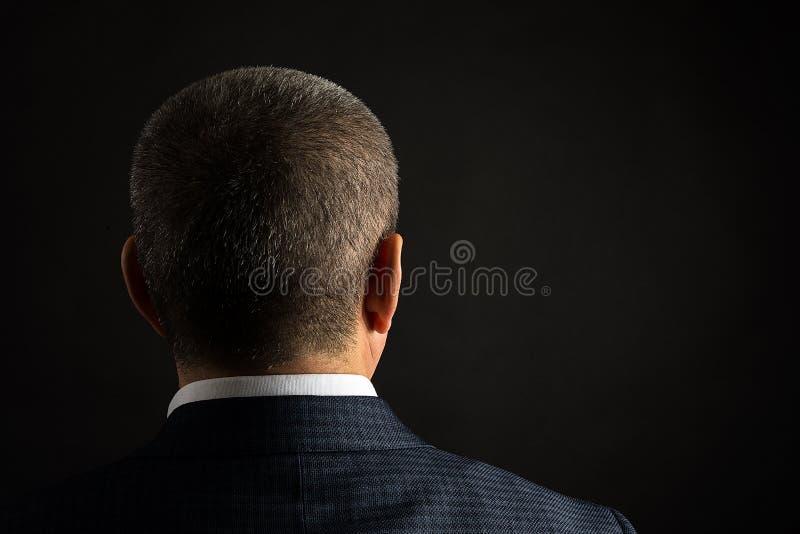 απομονωμένο επιχείρηση άτομο ανασκόπησης πέρα από το λευκό στοκ φωτογραφίες με δικαίωμα ελεύθερης χρήσης