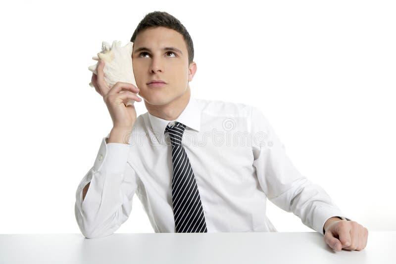 απομονωμένο επιχειρηματί& στοκ εικόνα με δικαίωμα ελεύθερης χρήσης