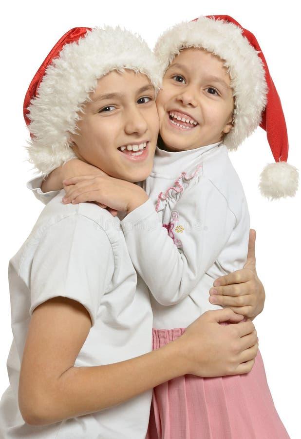 Download απομονωμένο λευκό αδελφών ανασκόπησης αδελφός Στοκ Εικόνα - εικόνα από παραμονή, χριστούγεννα: 62723421