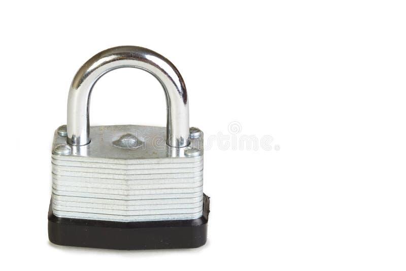 απομονωμένο λευκό κλειδωμάτων στοκ εικόνα