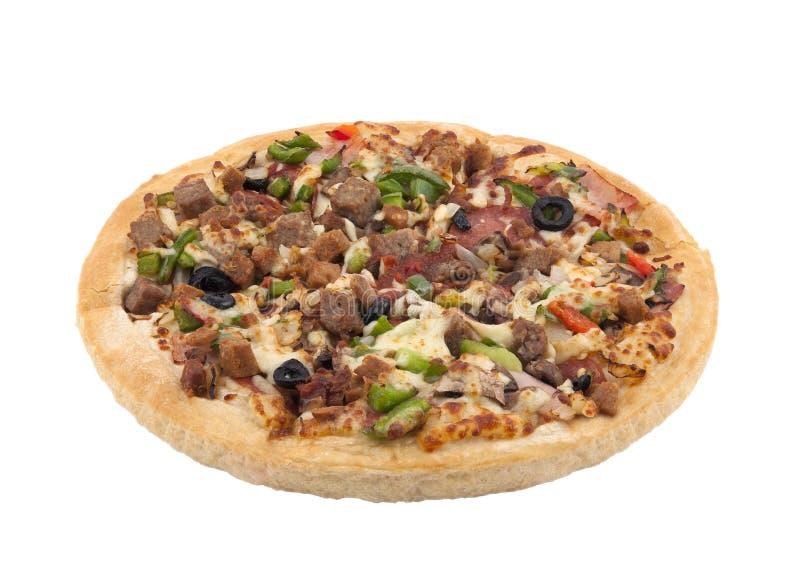 απομονωμένο λευκό πιτσών στοκ εικόνα με δικαίωμα ελεύθερης χρήσης