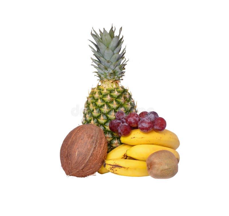 Απομονωμένο μίγμα των φρούτων στοκ φωτογραφίες με δικαίωμα ελεύθερης χρήσης