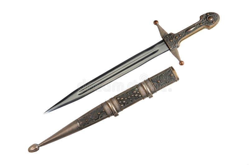 απομονωμένο μαχαίρι στοκ φωτογραφία με δικαίωμα ελεύθερης χρήσης