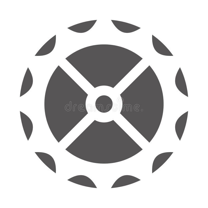 απομονωμένο μηχανή εικονίδιο εργαλείων απεικόνιση αποθεμάτων