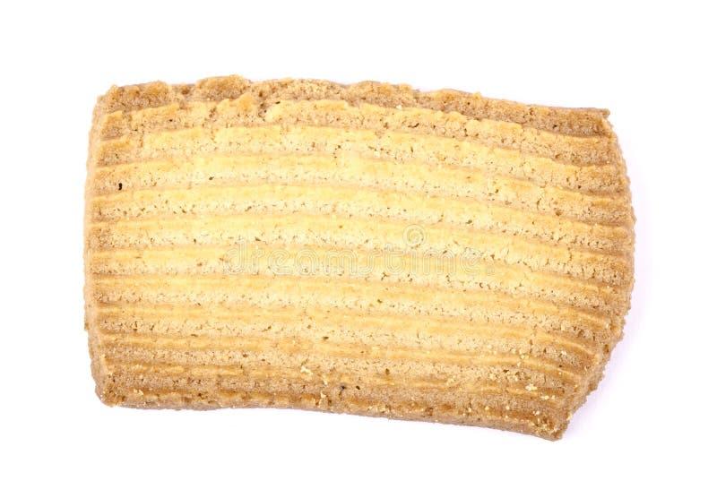 Απομονωμένο μπισκότο στοκ εικόνες με δικαίωμα ελεύθερης χρήσης