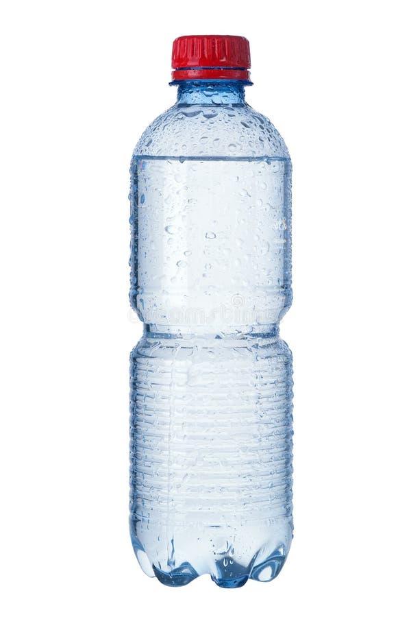 Απομονωμένο μπουκάλι νερό στοκ εικόνες με δικαίωμα ελεύθερης χρήσης