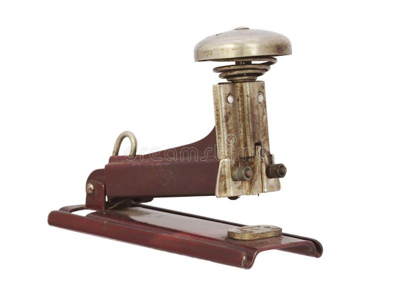 απομονωμένο παλαιό splicer στοκ εικόνα