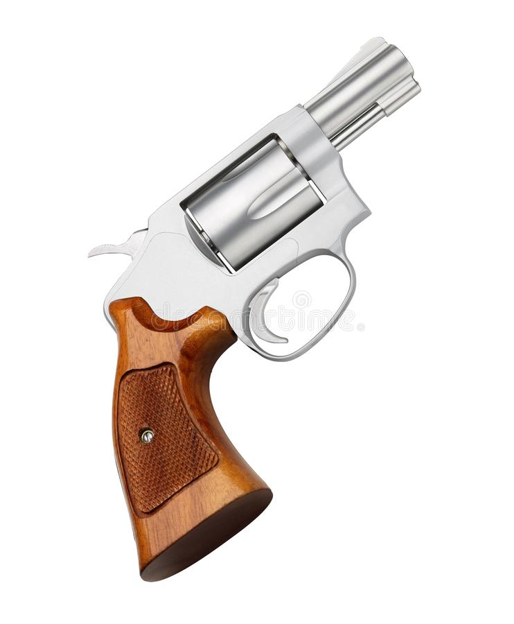 απομονωμένο πιστόλι στοκ εικόνα με δικαίωμα ελεύθερης χρήσης