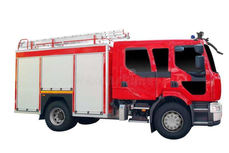 απομονωμένο πυρκαγιά truck στοκ εικόνες με δικαίωμα ελεύθερης χρήσης