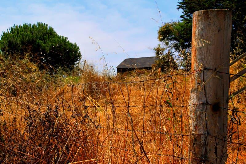 Απομονωμένο σπίτι έξω στη χώρα στοκ εικόνες με δικαίωμα ελεύθερης χρήσης