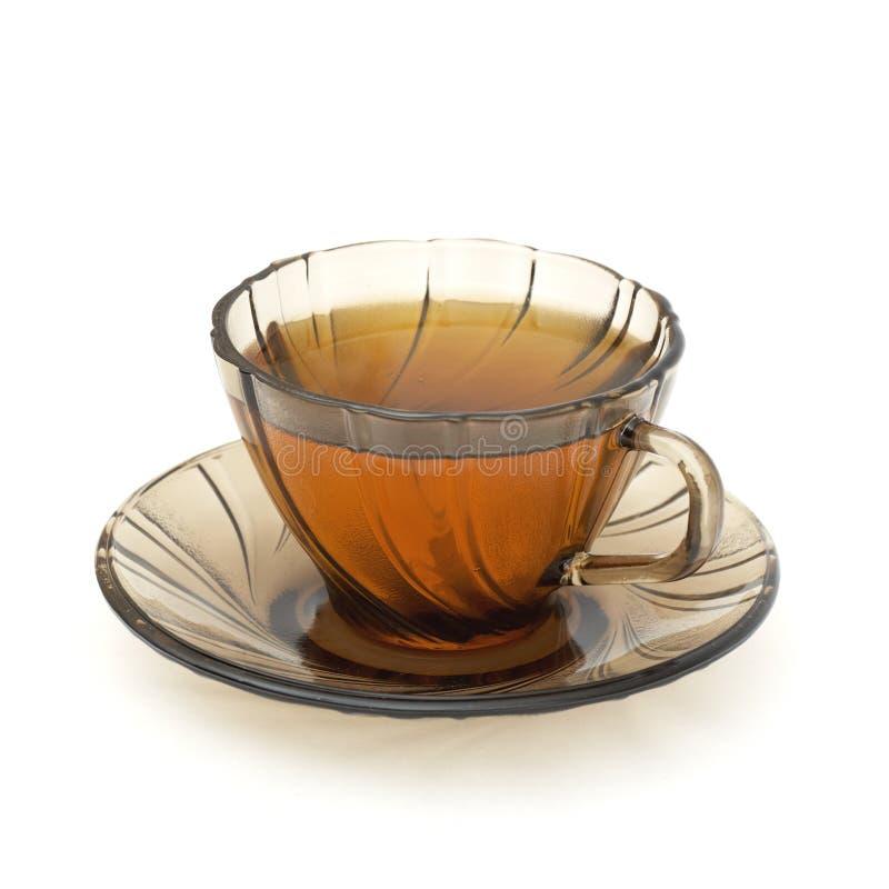 απομονωμένο φλυτζάνι τσάι στοκ εικόνες