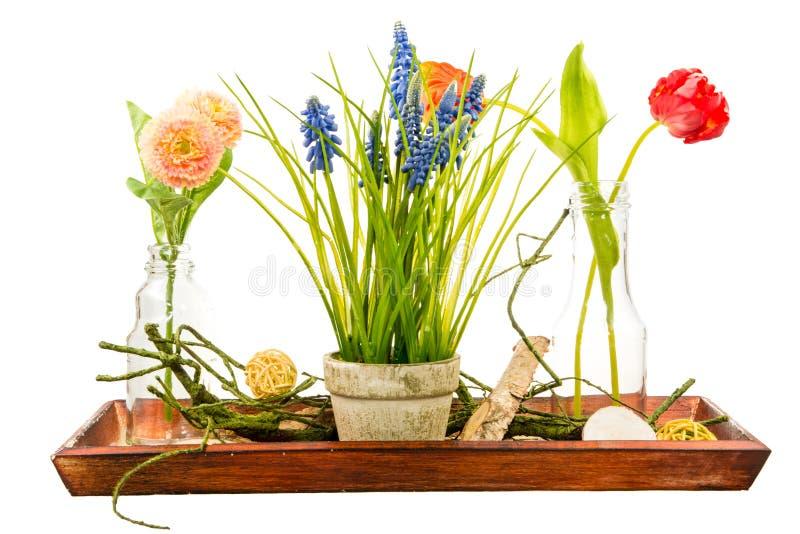Απομονωμένο deco τεχνητών λουλουδιών στοκ φωτογραφίες με δικαίωμα ελεύθερης χρήσης