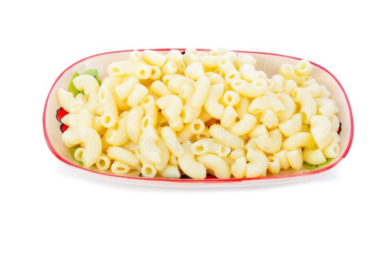 απομονωμένο macaroni στοκ φωτογραφία με δικαίωμα ελεύθερης χρήσης