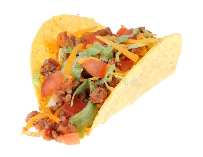 απομονωμένο taco στοκ φωτογραφίες με δικαίωμα ελεύθερης χρήσης