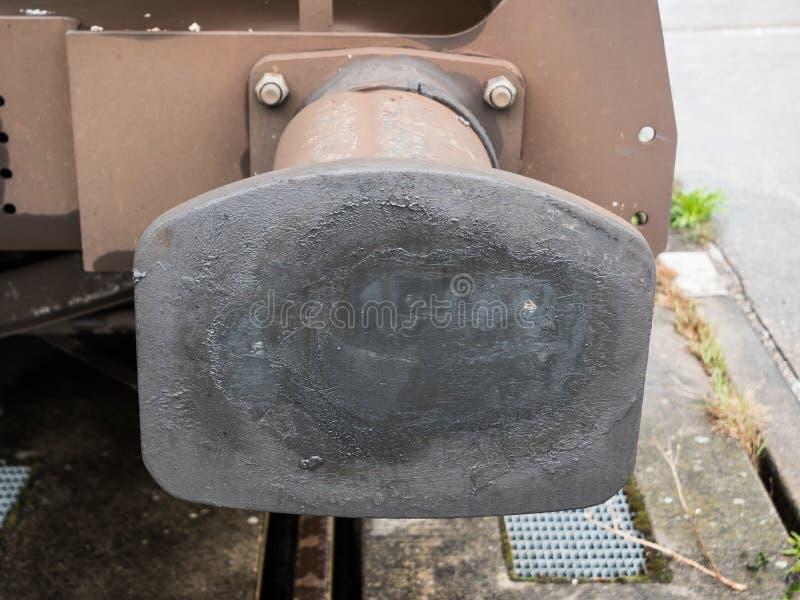 Απομονωτής ενός τυποποιημένου σιδηροδρομικού βαγονιού εμπορευμάτων μετρητών στοκ εικόνα με δικαίωμα ελεύθερης χρήσης