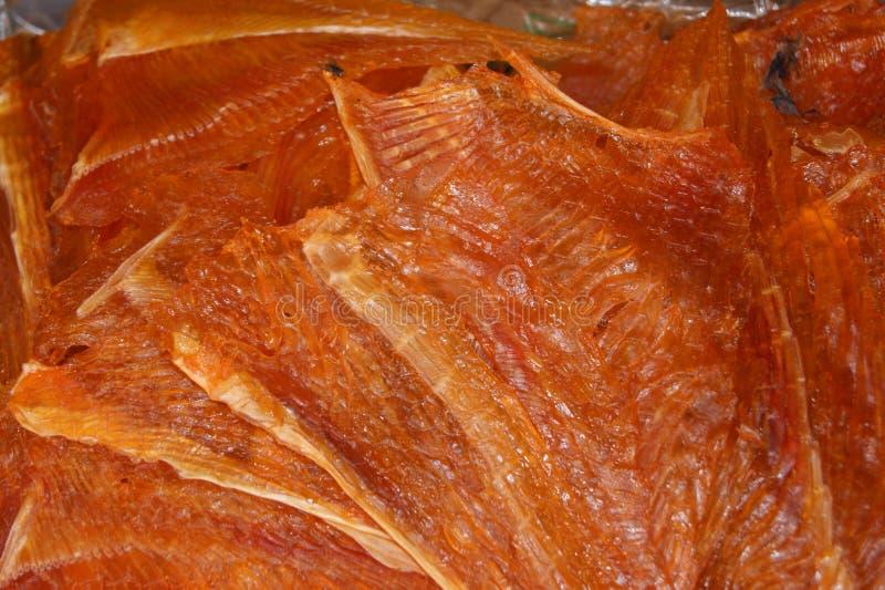 Αποξηραμένα ψάρια στην Ταϊλάνδη στοκ εικόνες