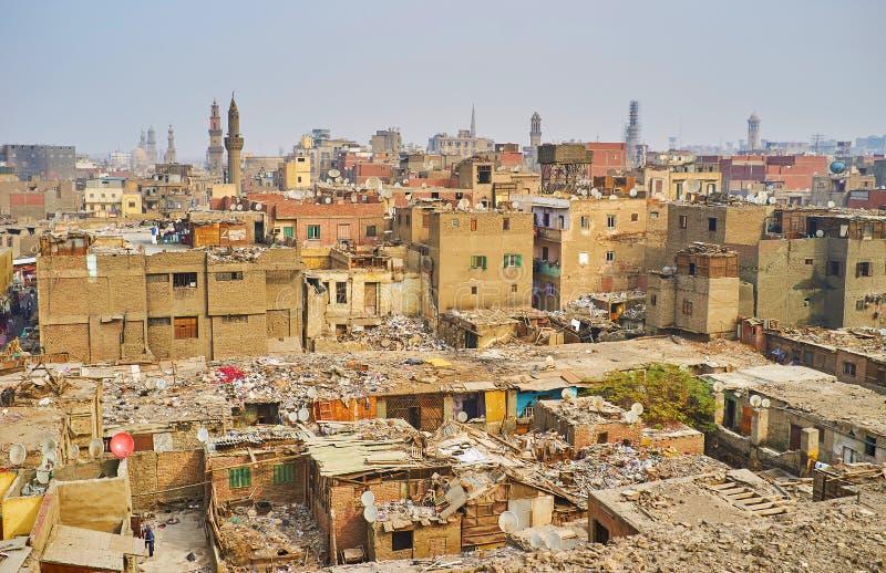 Απορρίματα στο παλαιό Κάιρο, Αίγυπτος στοκ φωτογραφίες