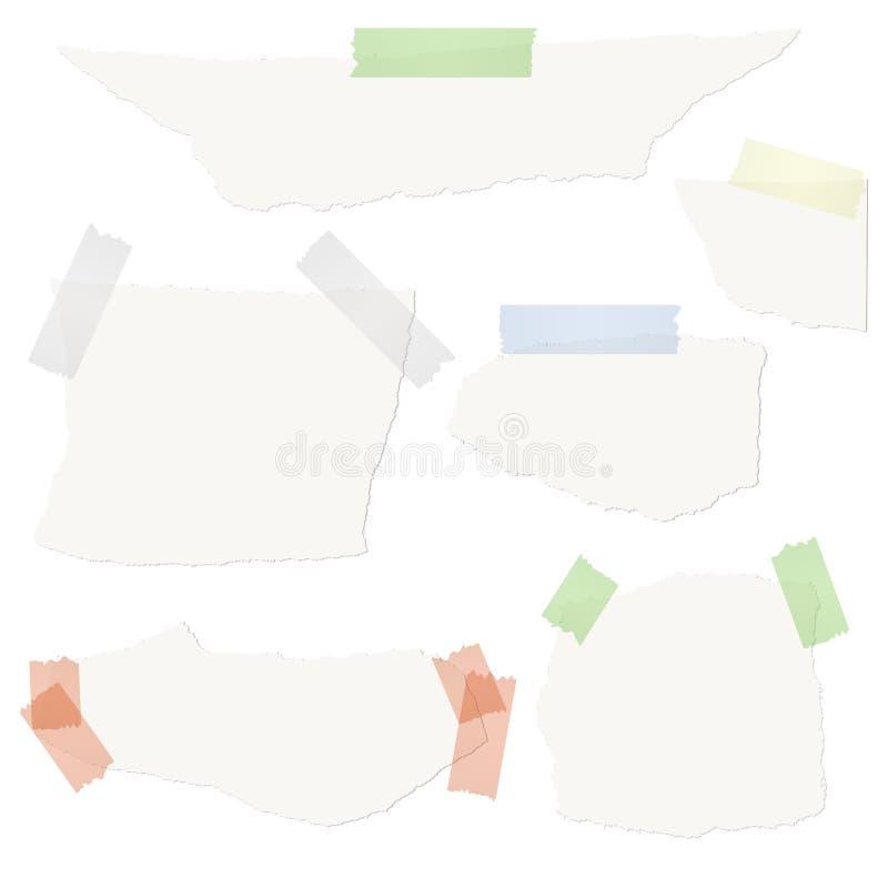 απορρίματα του εγγράφου με την ταινία απεικόνιση αποθεμάτων