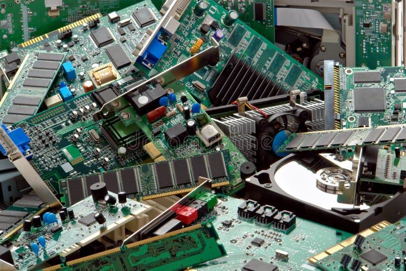 απορριμμένα υπολογιστής στοκ εικόνες με δικαίωμα ελεύθερης χρήσης