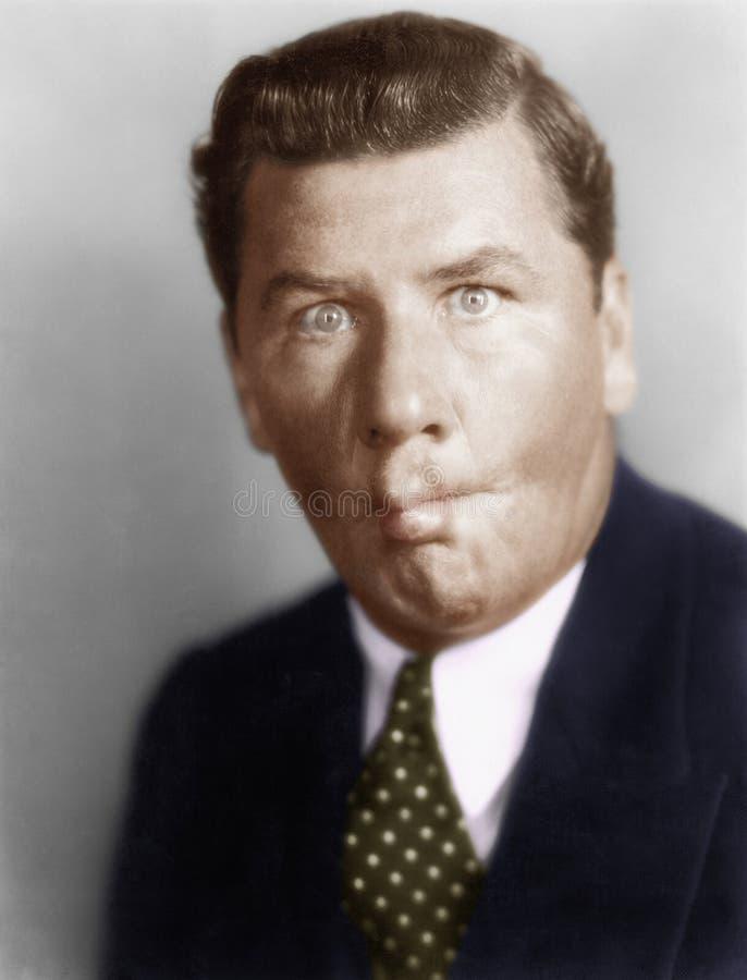 Απορρόφηση ατόμων στα μάγουλά του (όλα τα πρόσωπα που απεικονίζονται δεν ζουν περισσότερο και κανένα κτήμα δεν υπάρχει Εξουσιοδοτ στοκ εικόνες