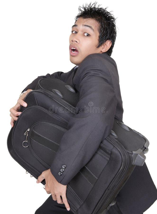 αποσκευές επιχειρηματ&io στοκ φωτογραφία