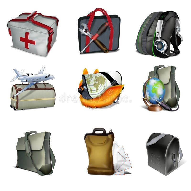 αποσκευές διανυσματική απεικόνιση
