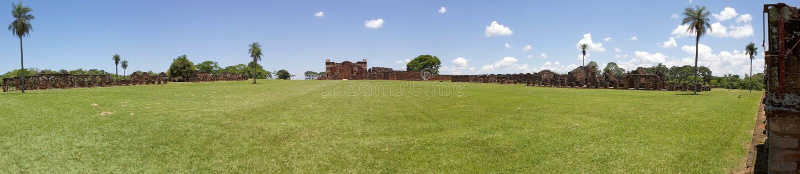 Αποστολές Jesuit του Λα Santisima Τρινιδάδ de ParanÃ, Παραγουάη στοκ φωτογραφίες με δικαίωμα ελεύθερης χρήσης