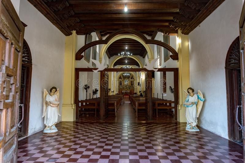 Αποστολή Μπάχα Καλιφόρνια Sur Μεξικό Loreto στοκ φωτογραφία με δικαίωμα ελεύθερης χρήσης