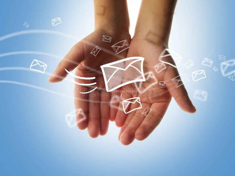 αποστολή sms ελεύθερη απεικόνιση δικαιώματος